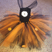 Baby halloween tutu dress! Fits up to one year old!