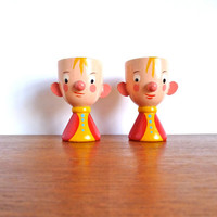 Vintage Sevi Egg Cups Pair