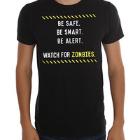 Watch For Zombies T-Shirt