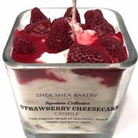 Signature-Strawberry Cheesecake Candle