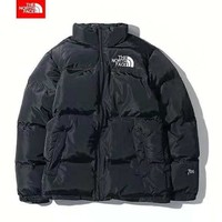 The North Face Winter Newest Trending Women Men Stylish Zipper Cardigan Cotton Jacket Coat Windbreaker Black