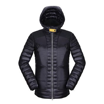 Fashion Outdoors Hoodie Parka Windproof Water-resistant Winter Jacket Puffer Ultralight Duck Down Coat Men Moleton Masculino