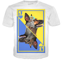 Fallout playing card tee