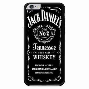 Jack Daniels Black iPhone 6 Plus / 6S Plus Case