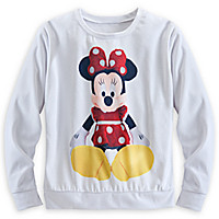 Minnie Mouse Plush Pullover Top for Women