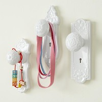 Kids' Storage: Kids' Decorative Door Knob Wall Hook in Shelves & Hooks | The Land of Nod
