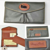 Authentic Dooney & Bourke Leather Wallet NEW