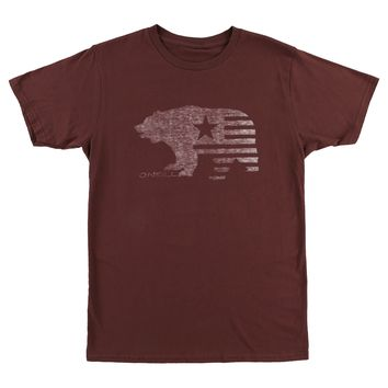 O'Neill Men's In The Woods Short Sleeve Graphic T-Shirt