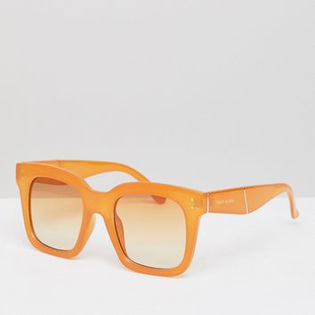 River Island Oversized Square Sunglasses at asos.com