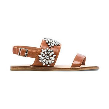 Jeffrey Campbell Dola Sandals in Tan