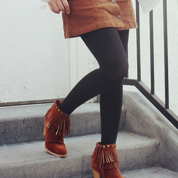 Atwood Fringe Booties