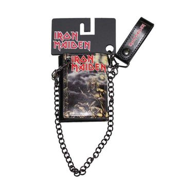 Iron Maiden Wallet And Chain