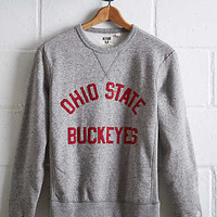 Tailgate Women's Ohio State Crew Sweatshirt, Gray Heather