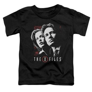 X Files - Mulder & Scully Short Sleeve Toddler Tee Shirt Officially Licensed T-Shirt
