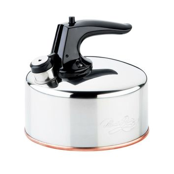 Revere® 3511217 Classic™ 6-Cup Whistling Tea Kettle, Stainless Steel