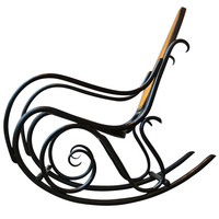 Early Rocking Chair by Thonet
