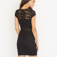 Peekaboo Lace Dress