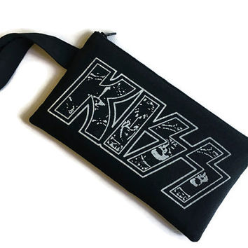 Kiss Bag Tshirt Purse Kiss Band Handbag
