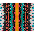 Elisabeth Fredriksson Licorice Dream Pattern Fleece Throw Blanket