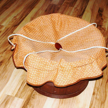 Vintage Farm Basket Laundry Tub Apple Barrel Bushel Carry Tote