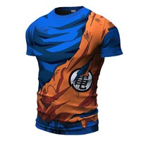 Goku Battle Damaged Armor Shirt