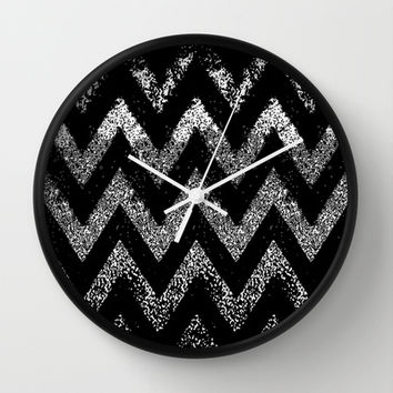 life in black and white Wall Clock by Marianna Tankelevich