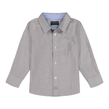 Grey Chambray Button-down