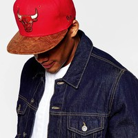 New Era 59Fifty Team Down Chicago Bulls Snapback Cap