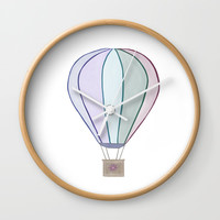 Balloon Wall Clock by sm0w