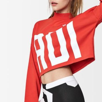 adidas Bold Age Cropped Sweatshirt at PacSun.com