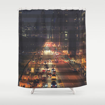 New York City Shower Curtain by Urban Exclaim