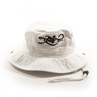 Logo – Bucket Hat – White