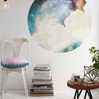 Walls Need Love Spacey Circle Decal- Multi