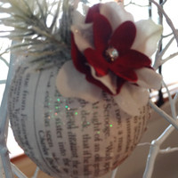 Handmade Keepsake Ornament, A Christmas Carol, Holidays, Home Decor