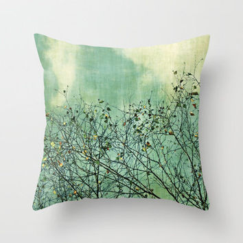 Nature Throw Pillow by Anne Staub | Society6