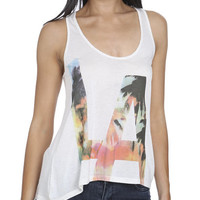 LA Tropical Tank | Shop Tops at Wet Seal