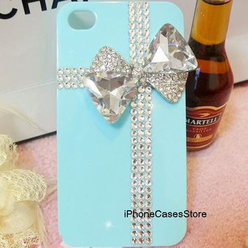 iphone 5 case tiffany box iphone case crystal by iPhoneCasesStore