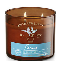 FOCUS - EUCALYPTUS & TEA3-Wick Candle