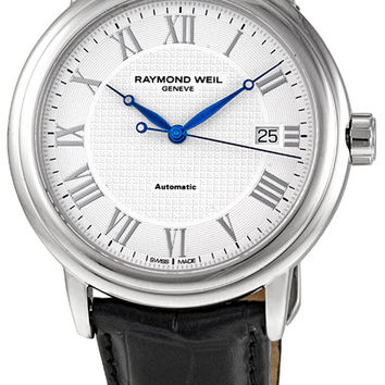 Raymond Weil Maestro Mens Self Winding Automatic Watch 2837-STC-00308