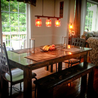 6ft Farmhouse Style Kitchen / Dining Room Table