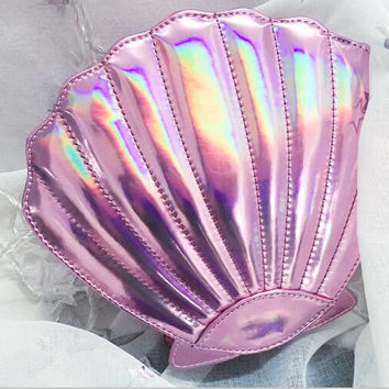 Mermaid Shell Shoulder Bag