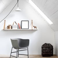 minuscule - CM200, Chair, dark grey back upholstery, seat height 41 cm - Fritz Hansen