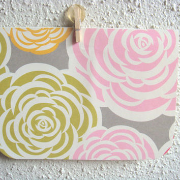Thank You Card Thinking of You Card Rosettes by CraftColorfully