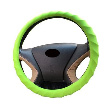 Silicone Anti-slip Auto Car Steering Wheel Cover