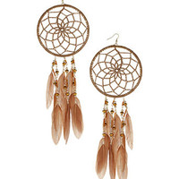 Dream Catcher Hoops - Jewellery By Diva  - Accessories