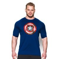 Under Armour Men's Under Armour Alter Ego Captain America 2.0 T-Shirt