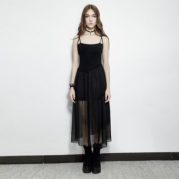 Black Swan Sheer Maxi Dress
