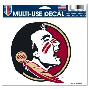 ONETOW NCAA Florida State Seminoles Multi Use Decal