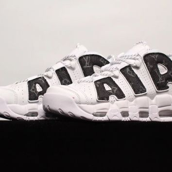 [Free Shipping ]Nike Air More Uptempo Basketball Sneakers