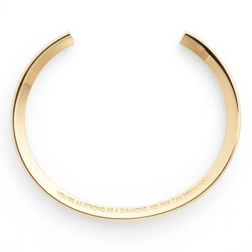 Stella Valle Saying Cuff | Nordstrom